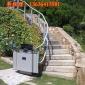 上海弘旭GSL、XJL曲线斜挂轮椅升降平台